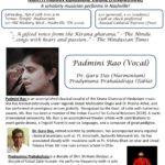 Hindustani Classical Vocal – Sat, Apr 15, 2017